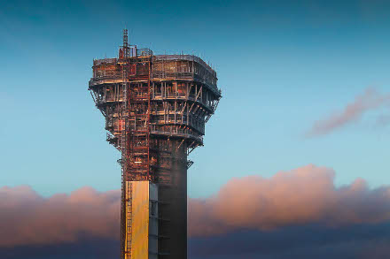 Nuclear Chimney Decommissioning Project